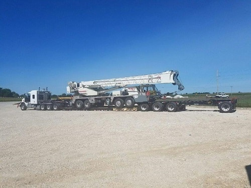 crane services in iowa from quad county ag