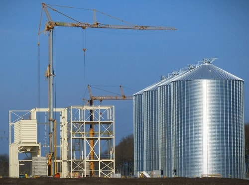 bin jacking and grain handling in Missouri